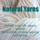 Natural Fibre Yarns - Undyed